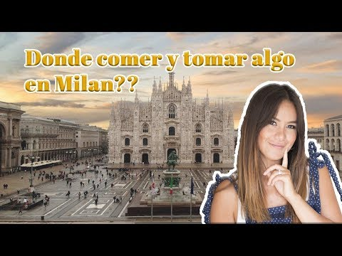 DONDE COMER Y TOMAR ALGO EN MILAN? 💁🏼♀️🍕🍝🍹