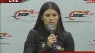 Danica Patrick JR Motorsports Press Conference 12/17/2009