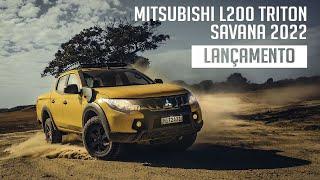 Mitsubishi L200 Triton Savana 2022 - Lançamento