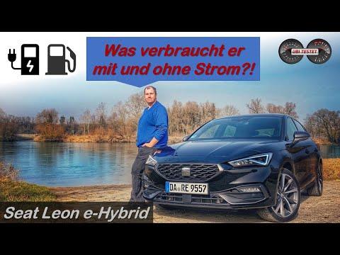 Seat Leon FR e-Hybrid im Test - Was verbraucht er mit & ohne Strom? | Test - Review - Verbrauchstest