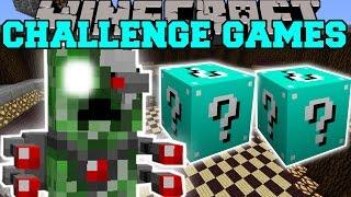 Minecraft: ROBOT ALIEN CREEPER CHALLENGE GAMES - Lucky Block Mod - Modded Mini-Game