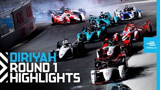 Race Highlights   2021 Diriyah E-Prix Round 1   NIGHT RACE!