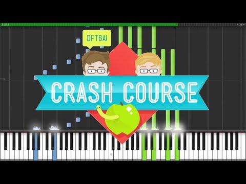 How to play the CrashCourse (Crash Course) Theme Song (piano ...