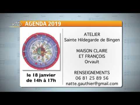 Agenda du 27 décembre 2019