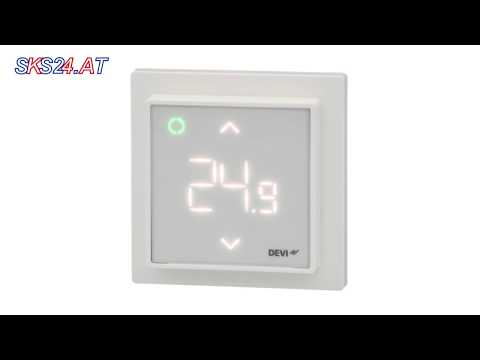140F1141 Devi Smart-Thermostat mit WLAN-Anbindung Appconnect