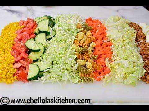 Nigerian Salad – Chef Lola's Kitchen