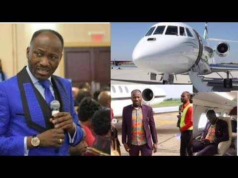 APOSTLE JOHNSON SULEMAN BUYS NEW PRIVATE JET || Verabella Oparah