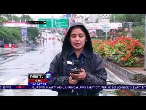 Infromasi Terkini Pasca Longsornya Jalan Kawasan Puncak Bogor - NET 12