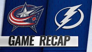Seven players score in 8-2 win for Lightning
