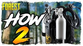 The Forest | HOW TO FIND THE REBREATHER | Updated Location