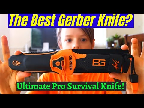 Gerber Bear Grylls Ultimate pro survival Knife Review
