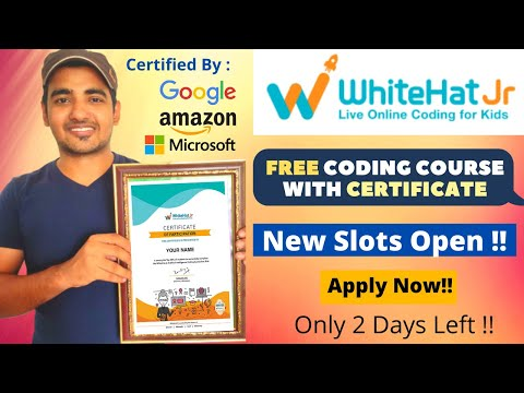 WhitehatJR - Free Coding Courses With Certificate   Register in ...