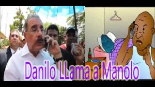 Danilo LLama a Manolo Cabeza de Huevo