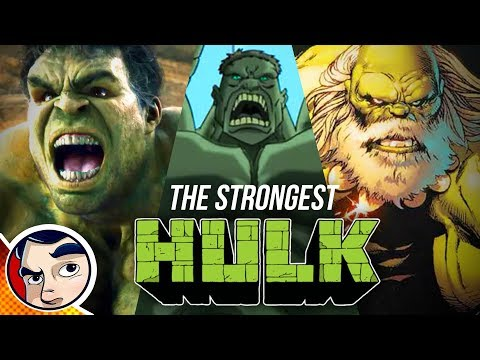 Who is the Strongest Hulk? – Comics Experiment