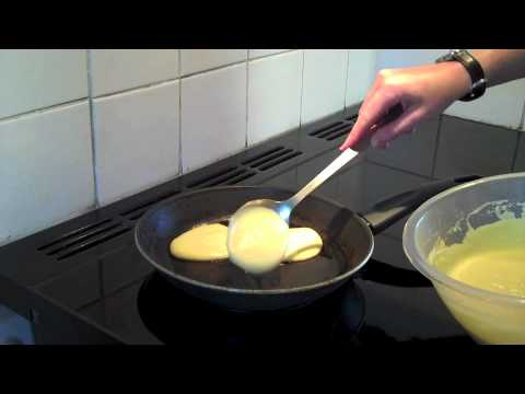 Drop scones cookery demo