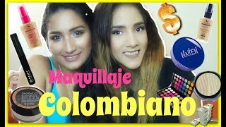 MAQUILLAJE CON PRODUCTOS COLOMBIANOS ft AndyBeauty