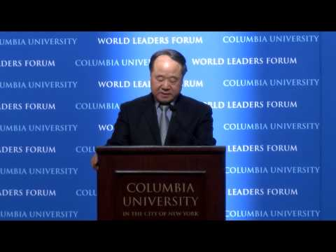 World Leaders Forum: Mo Yan and Chinese Literature [Chinese Audio]