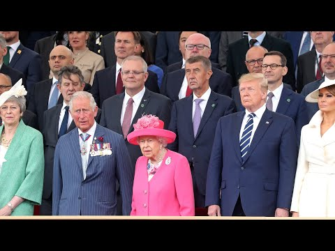 Watch live: Trump attends ceremony to commemorate 75th anniversary of D-Day