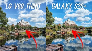 LG V60 ThinQ 5G vs Samsung Galaxy S20+ Camera Comparison Test