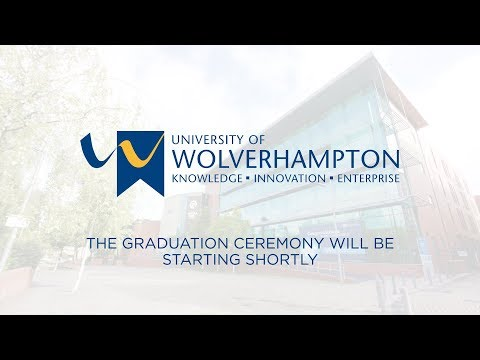 Graduation Ceremony: Monday 17th September 2018, 1:30pm