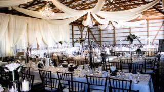 Barn Wedding Set-up