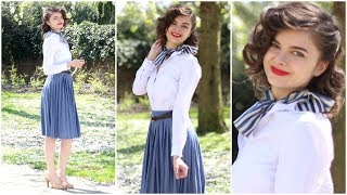 40s Vintage Inspired Head To Toe Look   Style Revival: 1940s