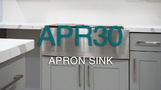 BOC American Style Cabinet Assembly And Modification Apron Sink Base Cabinet - APR30