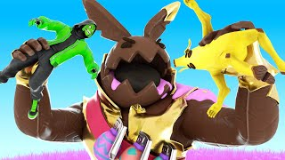 We TURNED To CANDY In FORTNITE?!