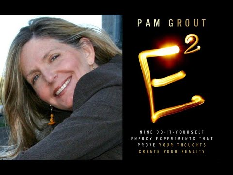 November 12th, Pam Grout, author of 'E-Squared'