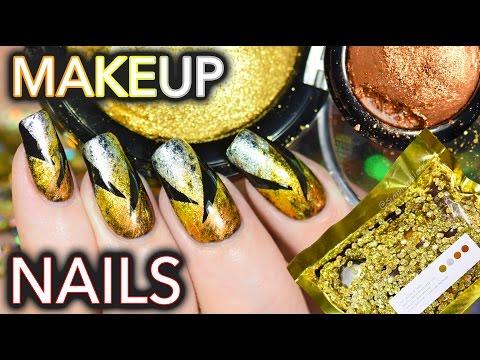 Nails using $$$ makeup! Metalmorphosis 005 Kit GOT NAILED