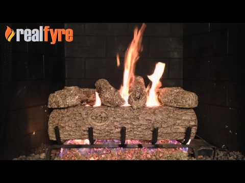Peterson Real Fyre Golden Oak Gas Logs