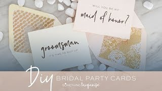 "30+ Free Printable ""Will You Be My Bridesmaid?"" Cards!"