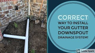 Downspout drainage solutions - How to (Part 2)