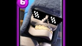 Haciendo mas de 50 Esqueletos Gigantes - Clash Royale