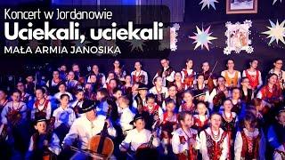 """Koncert Kolęd w Jordanowie - MAŁA ARMIA JANOSIKA - """"Uciekali,uciekali""""  13.01.2019r"""