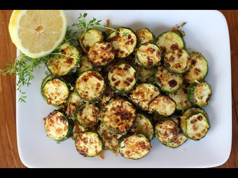 Side Dish Recipe: Lemon Parmesan & Thyme Roasted Zucchini by Everyday Gourmet with Blakely