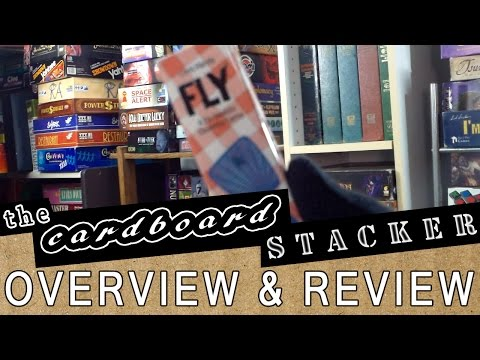 Overview & Review with The Cardboard Stack - Pack-O-Games 4