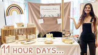 VLOG: My First Craft Show Experience