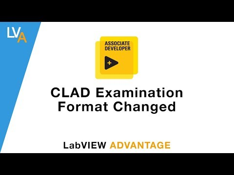 CLAD Exam Format Changed – LabVIEW - YouTube