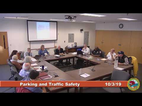 Parking and Traffic Safety Committee 10.3.2019