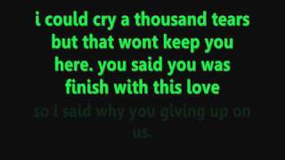 Chris Brown- Last Time Together (Lyrics On Screen)