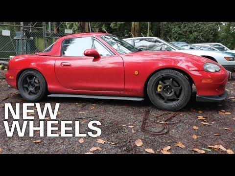 Mazda MX5 Build: New Wheels