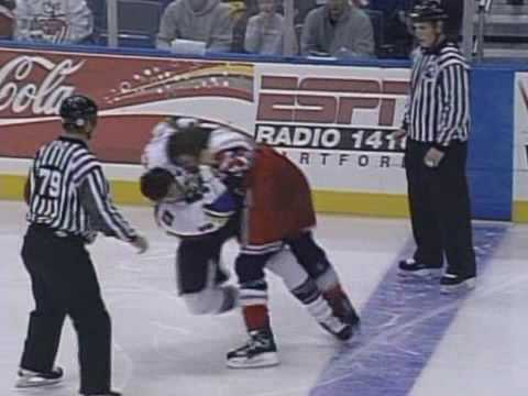 George Parros vs Craig Weller