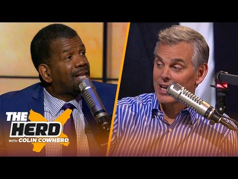 Warriors finals streak is not impressive, says Drake 'crossed the line' - Rob Parker | NBA |THE HERD