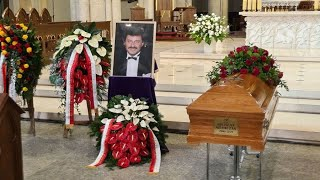ŁÓDŹ Uroczystości pogrzebowe Krzysztofa Krawczyka, 10.04.2021 r.