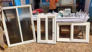 Aluminium PVC Glass Window Price Details By Shree Interiors Owner