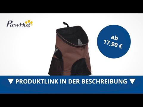 PawHut Hunderucksack Hunde KatzenTragetasche Rucksack Transporttasche kaffee - direkt kaufen!