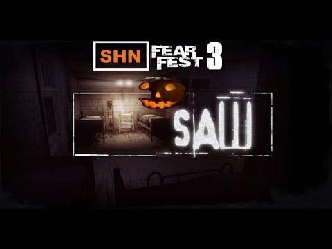🎃 SHN FearFest 3 🎃 | Day V | SAW | Horror Gaming Stream Festival No Commentary