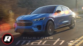 2021 Ford Mustang Mach E: Ford's electric Mustang Mach-E revealed