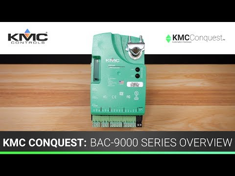KMC Conquest: BAC-9000 Series Overview